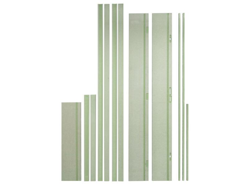 Solid Frame deurkast brand- en waterwerend 3-puntslot 212x25 cm