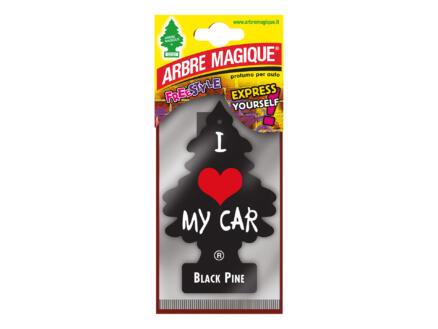 Arbre Magique Freestyle désodorisant pin noir