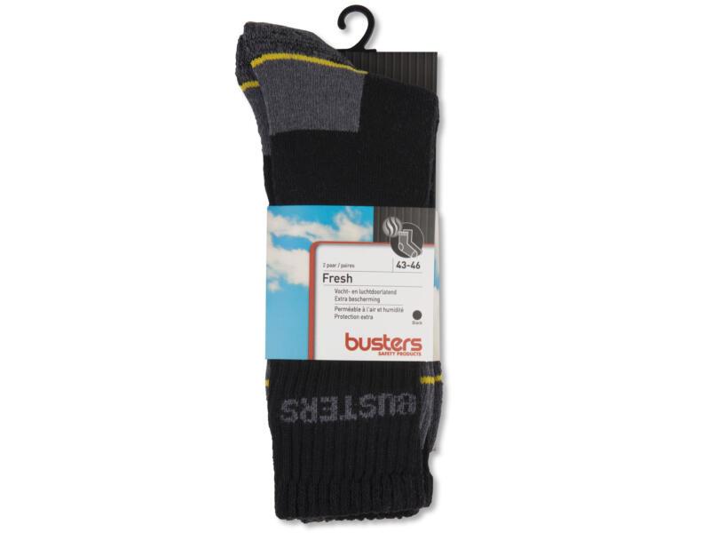 Busters Fresh chaussettes 43-46 noir