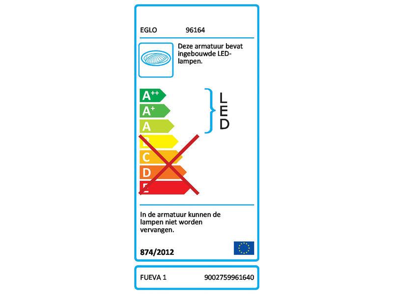 Eglo Fueva 1 LED inbouwspot 2,7W neutraal