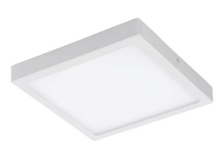 Eglo Fueva-C plafonnier LED carré 12W dimmable blanc