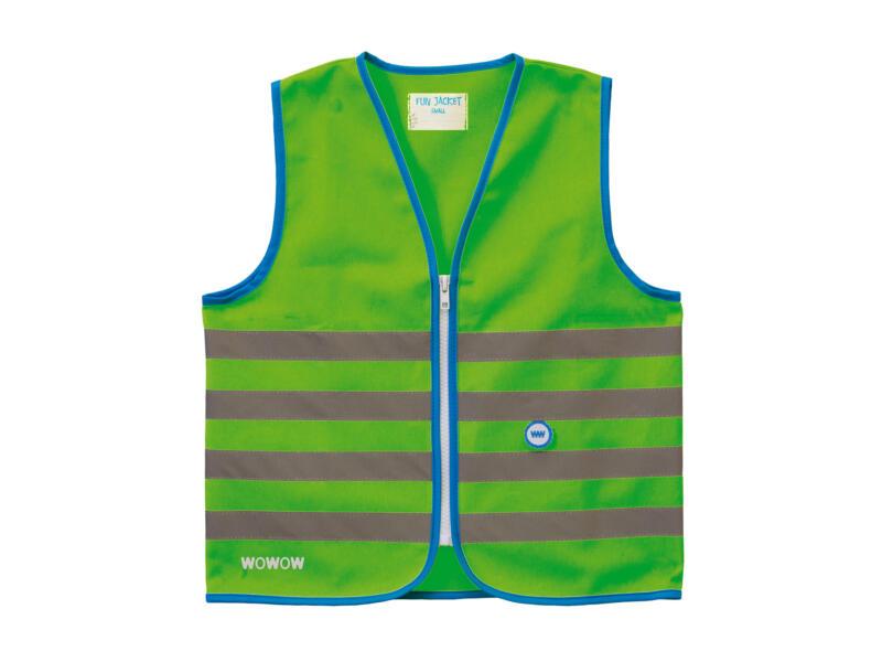 Fun Jacket gilet fluo L vert