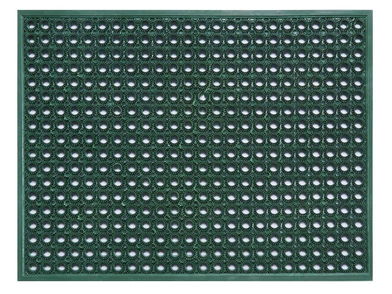 Funky paillasson grattoir caoutchouc 48x62 cm vert