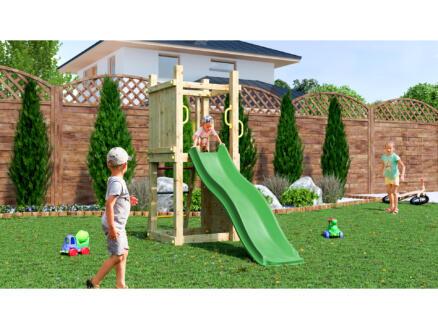 Gardenas Funny III speeltoren + glijbaan groen