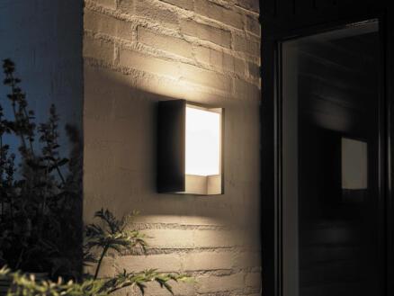 Philips Hue Fuzo applique murale extérieure LED 15W 27cm dimmable noir