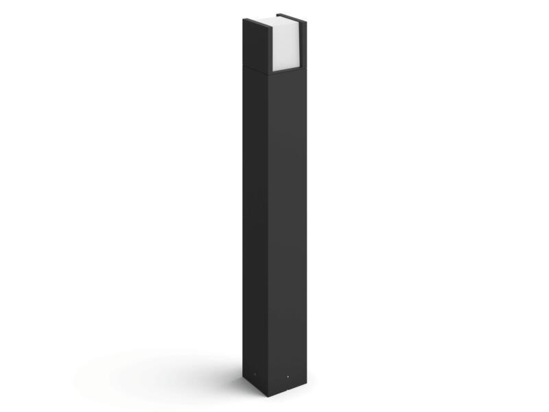 Philips Hue Fuzo potelet extérieur LED 15W 83cm dimmable noir
