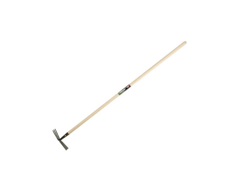 Polet G1 tuinhak 3 tanden + steel 150cm