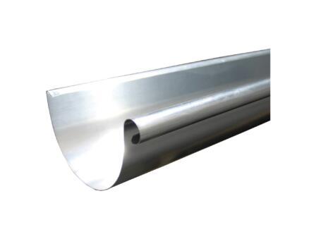 Scala G125 gouttière 3m galvanisé gris