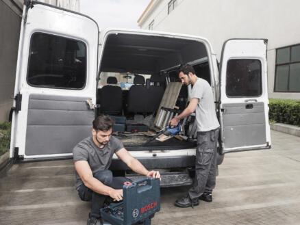 Bosch Professional GAS 18V-1 aspirateur sans fil 18V Li-Ion batterie non comprise