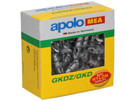 Celo GKDZ/GKD chevilles autoforantes + vis pour murs creux 50 pièces
