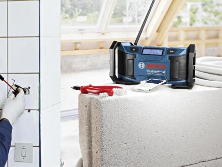 Bosch GML Soundboxx accu werfradio 12V Li-Ion zonder accu