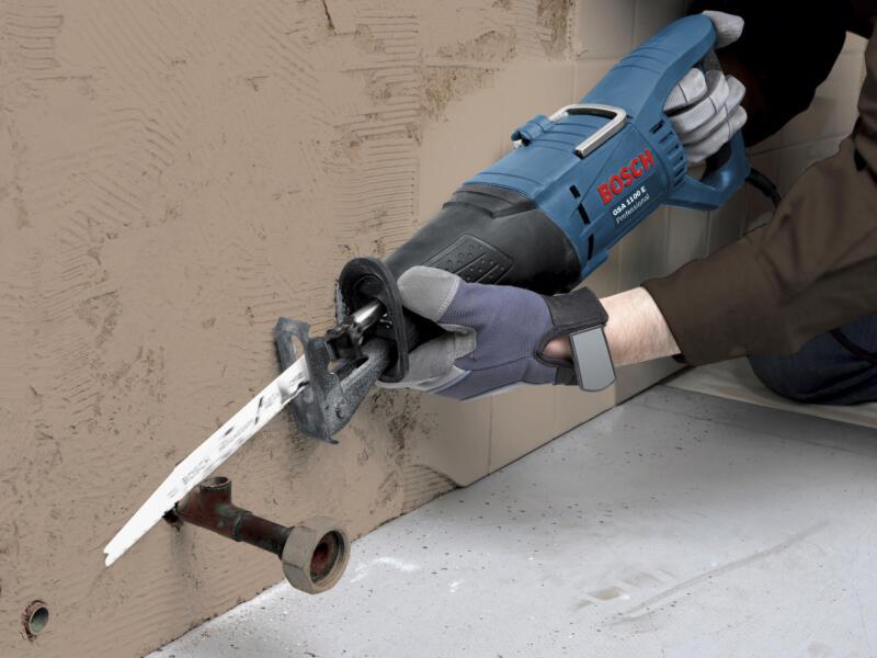 Bosch Professional GSA 1100 E reciprozaag 1100W + 3 zaagbladen