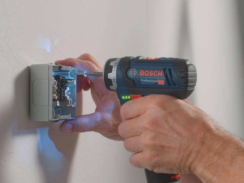 Bosch Professional GSR 12V-15 FC accu schroefboormachine 12V