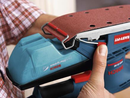 Bosch Professional GSS 23 AE ponceuse vibrante 190W + 6 feuilles de ponçage