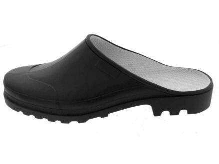 Galoche Fashion klomp open zwart 42/43