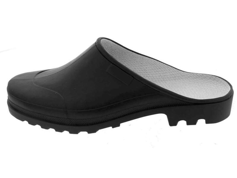 Galoche Fashion klomp open zwart 44/45