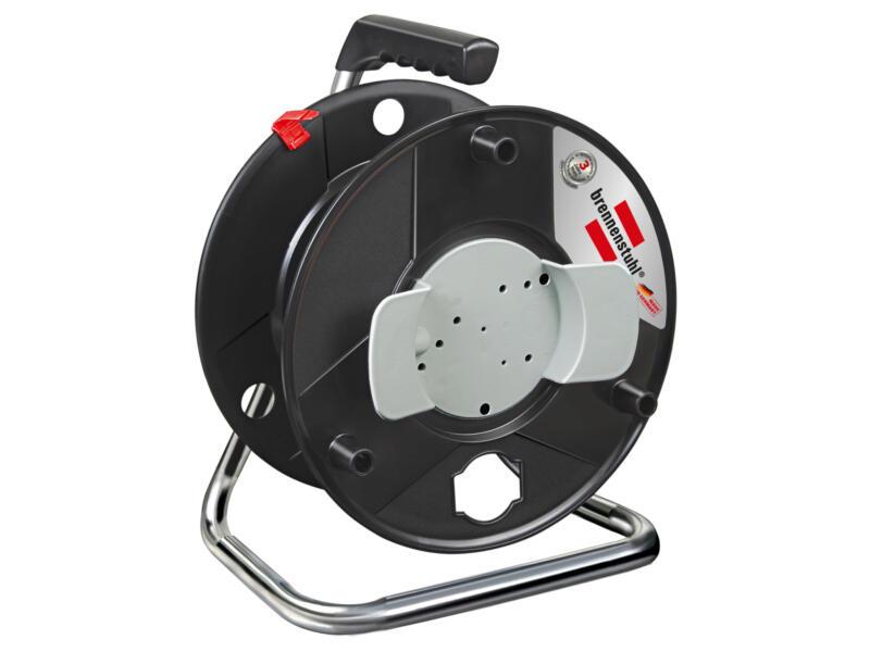 Brennenstuhl Garant enrouleur de câble vide noir