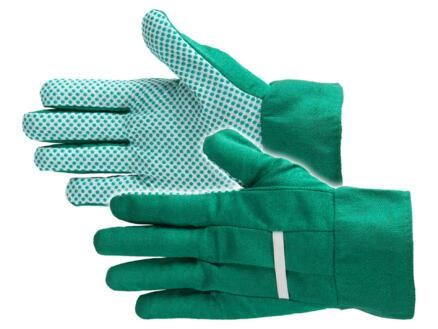 Busters Garden Dot Grip tuinhandschoenen XL katoen groen