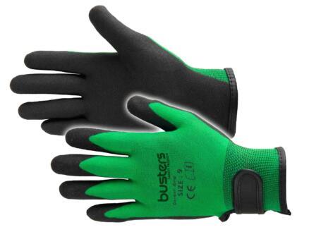 Busters Garden Grip gants de jardinage S/M nylon vert