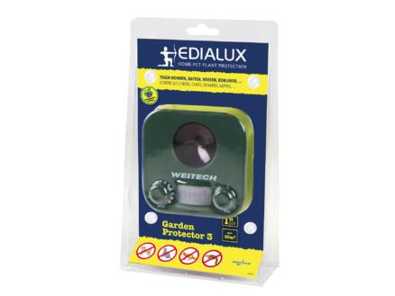 Edialux Garden Protector 3 ultrasoon solar met bewegingssensor