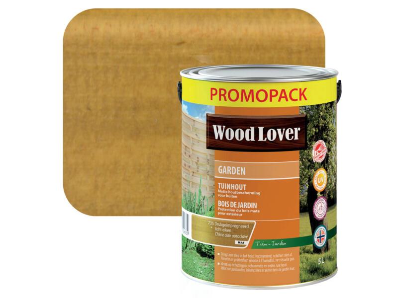 Wood Lover Garden houtbeits 5l drukgeïmpregneerd licht eiken
