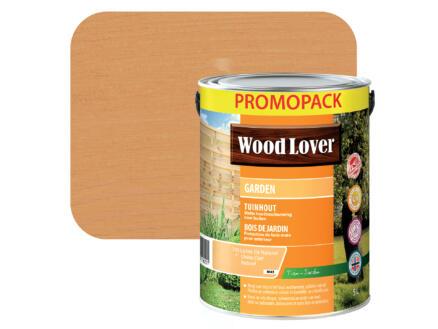 Wood Lover Garden lasure bois 5l chêne clair naturel #745