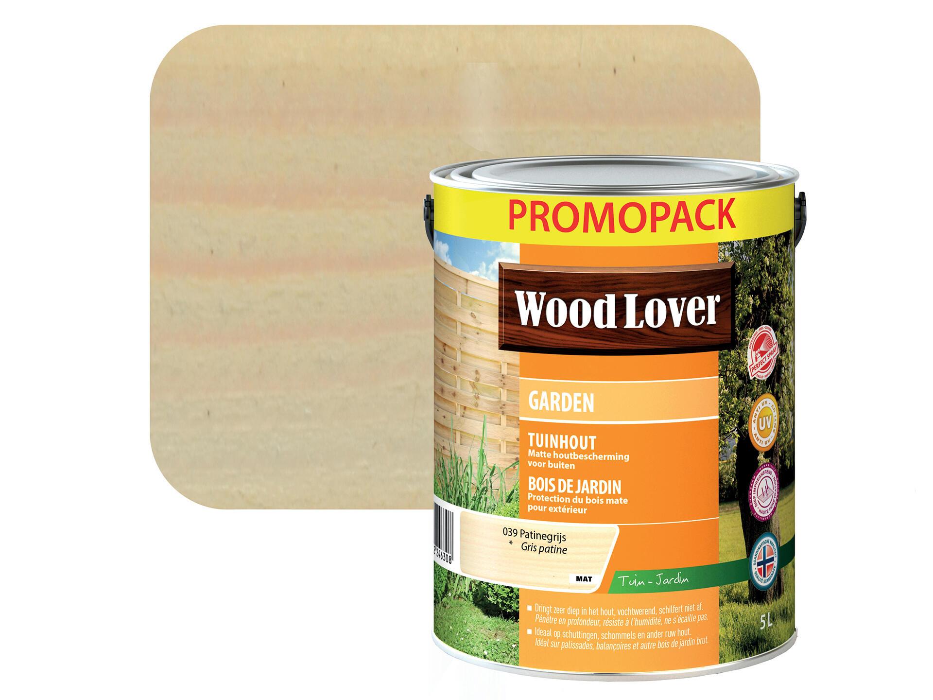 Peinture Bois Gris Patiné wood lover garden lasure bois 5l gris patine #039
