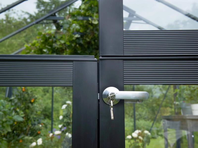 Juliana Gardener 188 serre veiligheidsglas antraciet