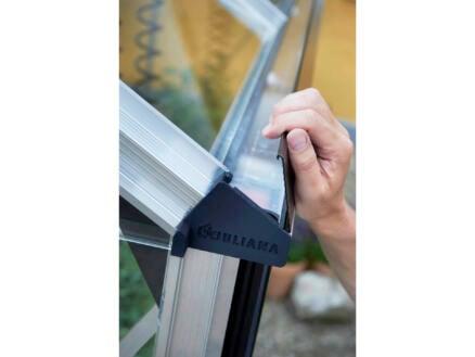 Juliana Gardener 214 serre verre de sécurité gris