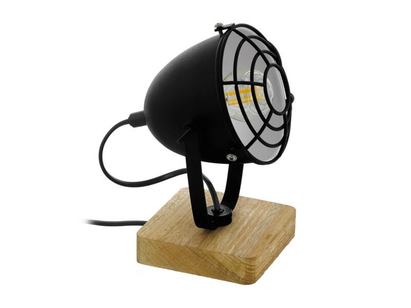 Eglo Gatebeck lampe de table E14 40W noir