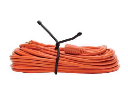 Nite Ize Gear Tie attache serre-câble 457,2x10,16 mm noir 2 pièces