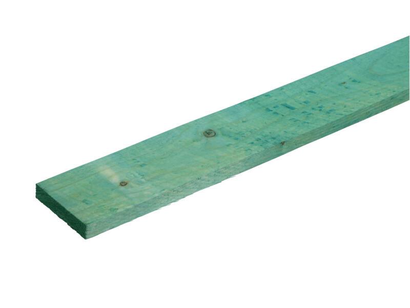 Gedrenkt hout +/- 19x100 mm  +/- 2,4m