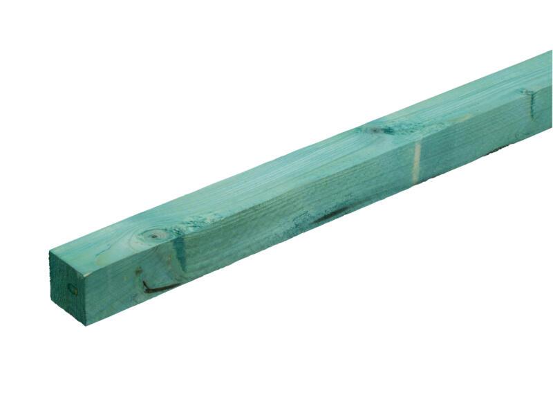 Gedrenkt hout +/- 47x47 mm  +/- 3,0m