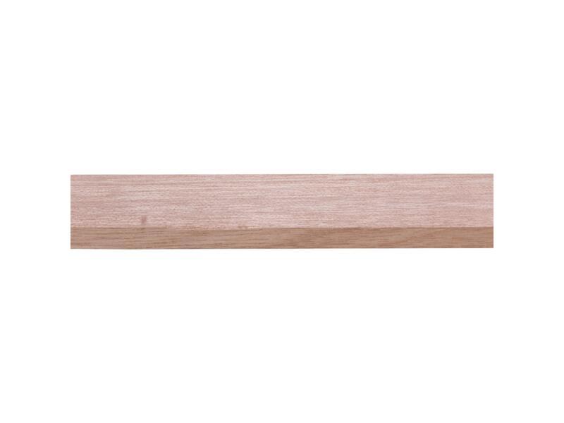 Geschaafde lat hardhout 9x35 mm 210cm