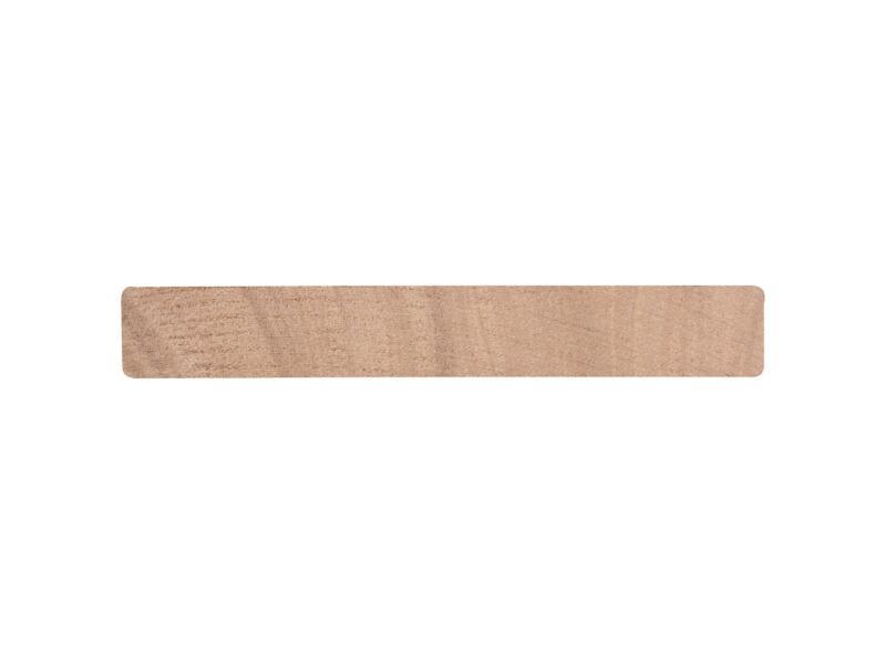 Geschaafde plank hardhout 27x190 mm 240cm