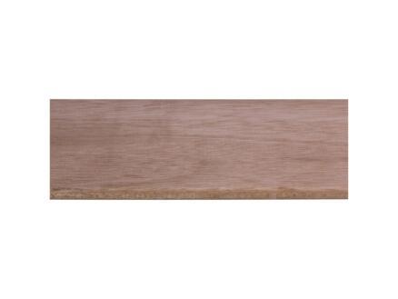 Geschaafde plank hardhout 9x117 mm 210cm