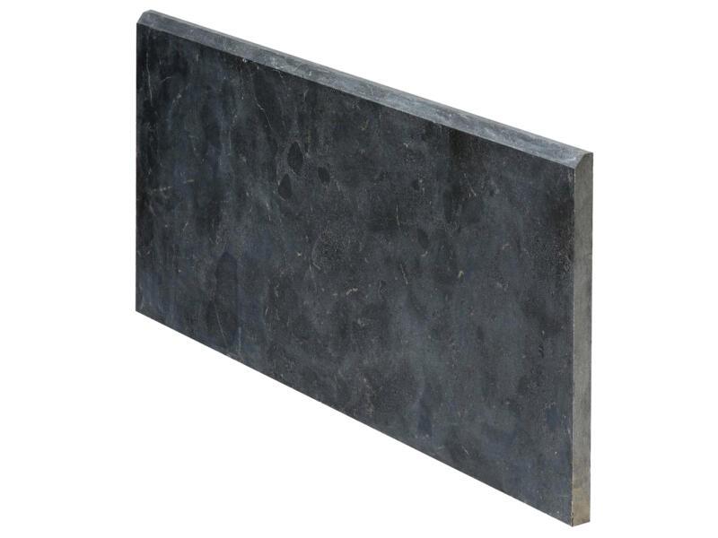 Gevelplint 100x40x3 cm blauwe hardsteen