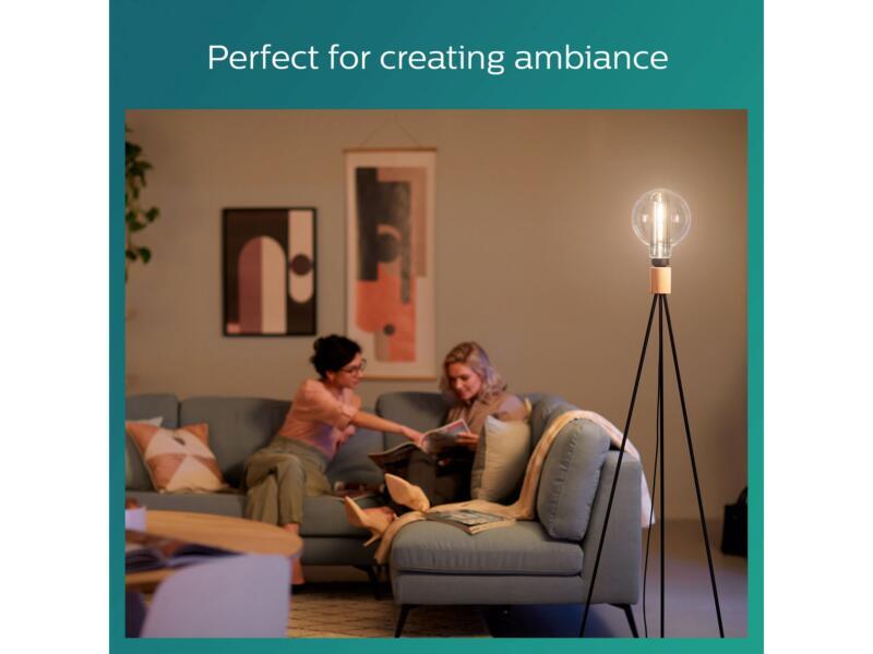 Philips Giant Modern Smoky LED globelamp filament E27 6,5W wit dimbaar