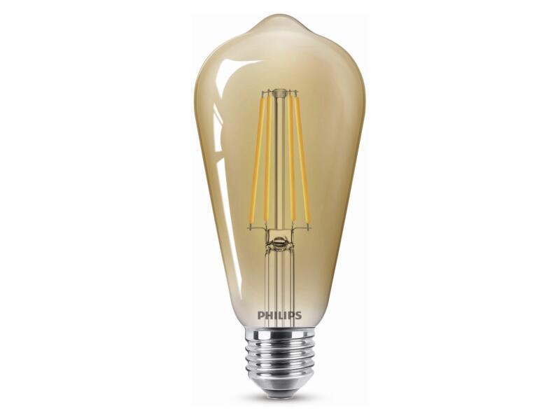 Philips Giant Vintage LED Edisonlamp filament E27 5,5W dimbaar gold