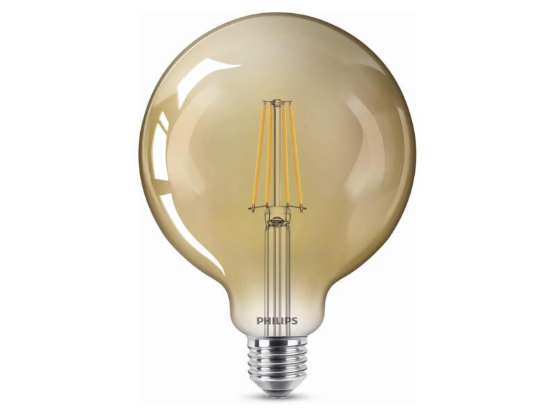 Philips Giant Vintage LED bollamp filamant donker glas E27 7,2W dimbaar