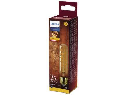 Philips Giant Vintage LED buislamp filament E27 5,5W dimbaar gold