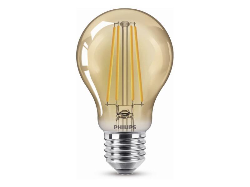 Philips Giant Vintage ampoule LED poire filament E27 5,5W dimmable gold