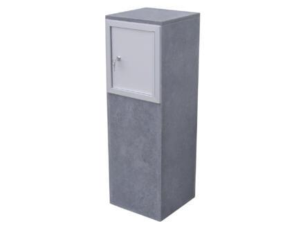 VASP Gijon boîte aux lettres pierre bleue belge