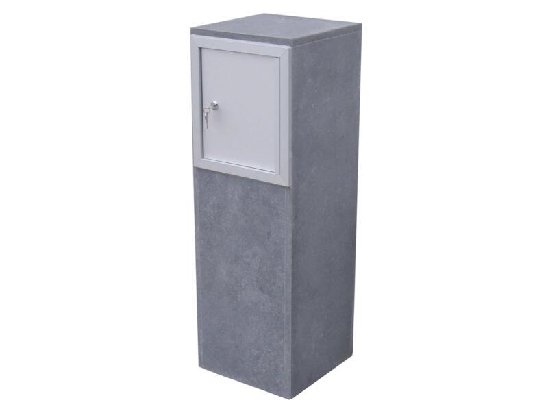 VASP Gijon brievenbus belgische blauwe steen