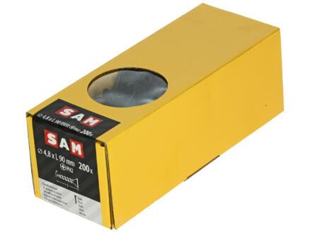Sam Gipsplaatschroeven PH2 90x4,8 mm 200 stuks