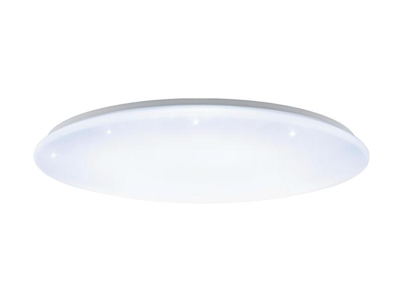 Eglo Giron-S LED plafondlamp 80W dimbaar + afstandsbediening wit/kristal