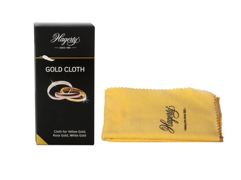 Glansdoek goud