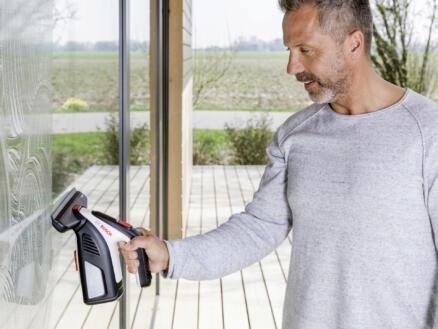 Bosch GlassVac Solo Plus accu ruitenreiniger