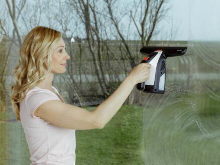 GlassVac Solo nettoyeur de vitres sans fil