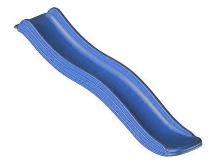 Glijbaan 85cm hoog blauw